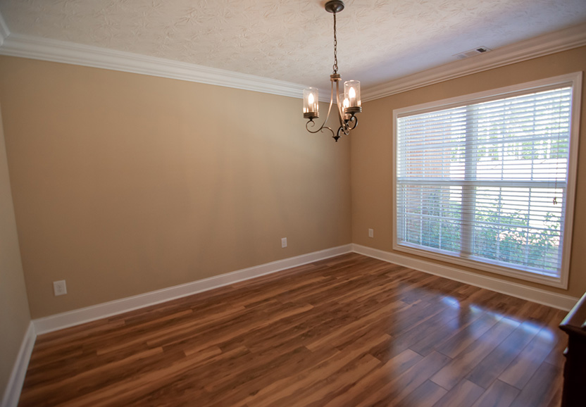 hardwood floors, dining area, john bunn realty, mountain house, 44 viburnum way, pine mountain