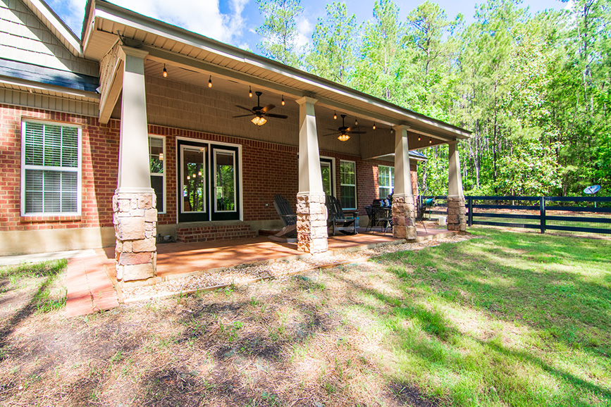 front view of 44 viburnum way, pine mountain ga, nature, trees, mountain house