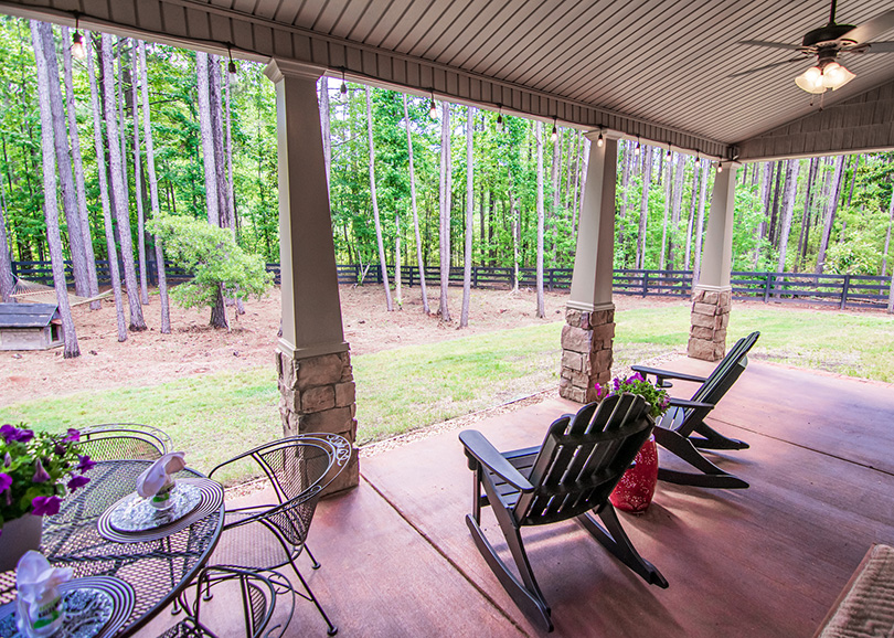 44 viburnum way, pine mountain ga, john bunn realty, nature porch view, vacation house