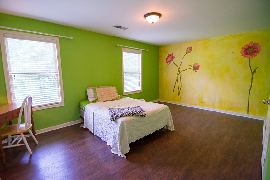 Bedroom in home of john bunn realty listing in columbus ga