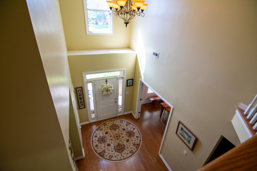 Columbus ga house listed by john bunn realty realtor house for sale upstairs view