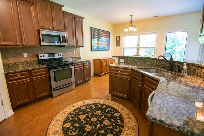 John bunn realty kitchen granite counter tops