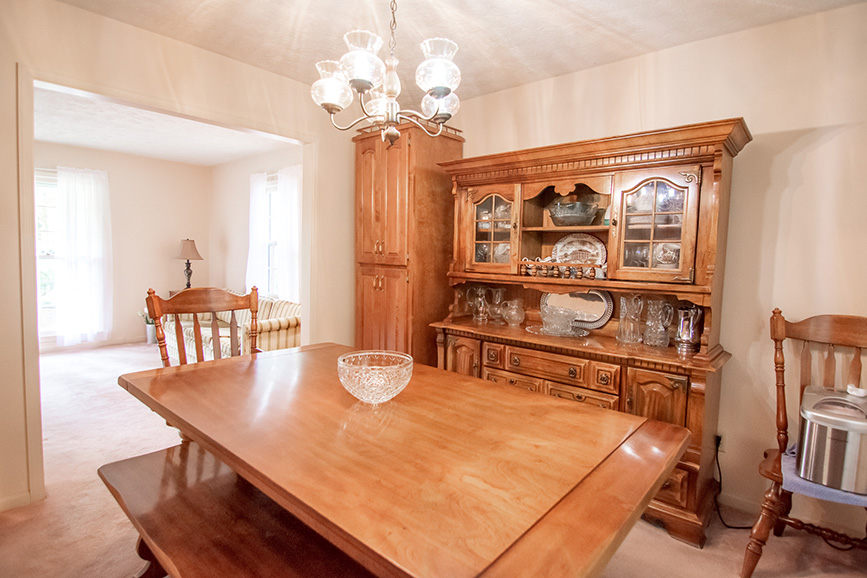John Bunn realty lists a beautiful dining room in Ellerslie GA