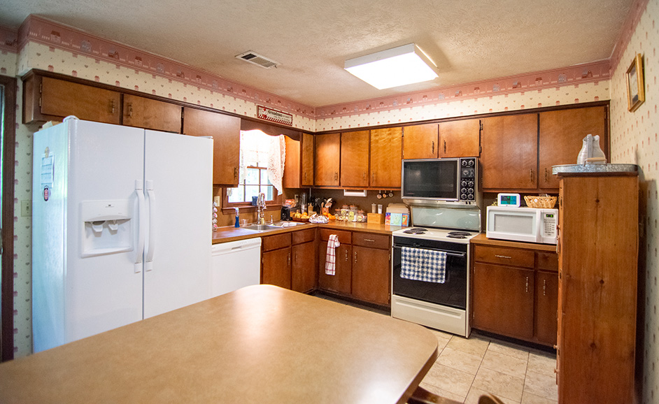 john bunn realty harris county home for sale with a kitchen wood cabinets in Ellerslie Ga