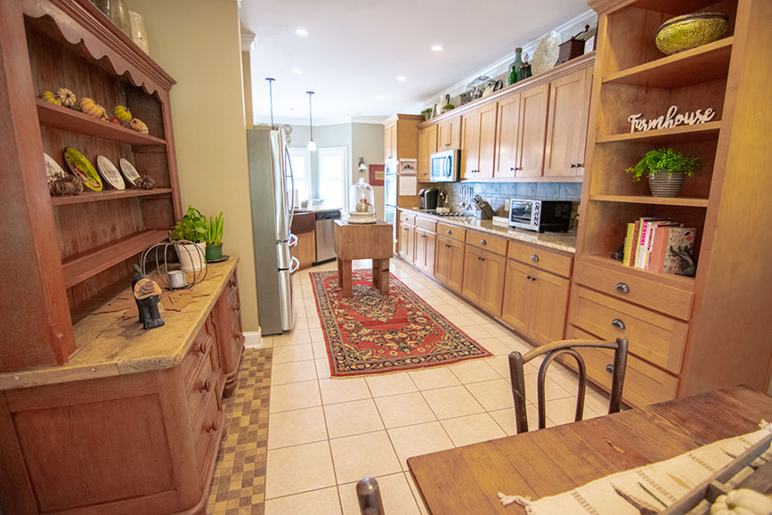 kitchen in house for sale john bunn realty harris county ga