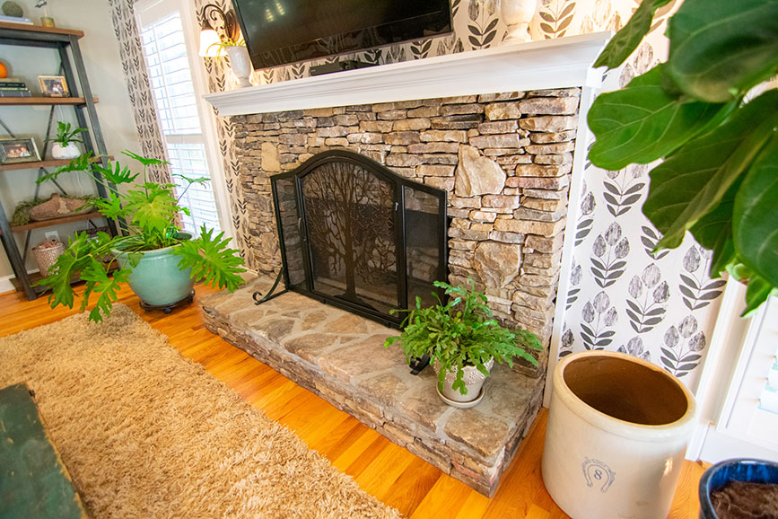 fireplace in house for sale john bunn realty harris county ga