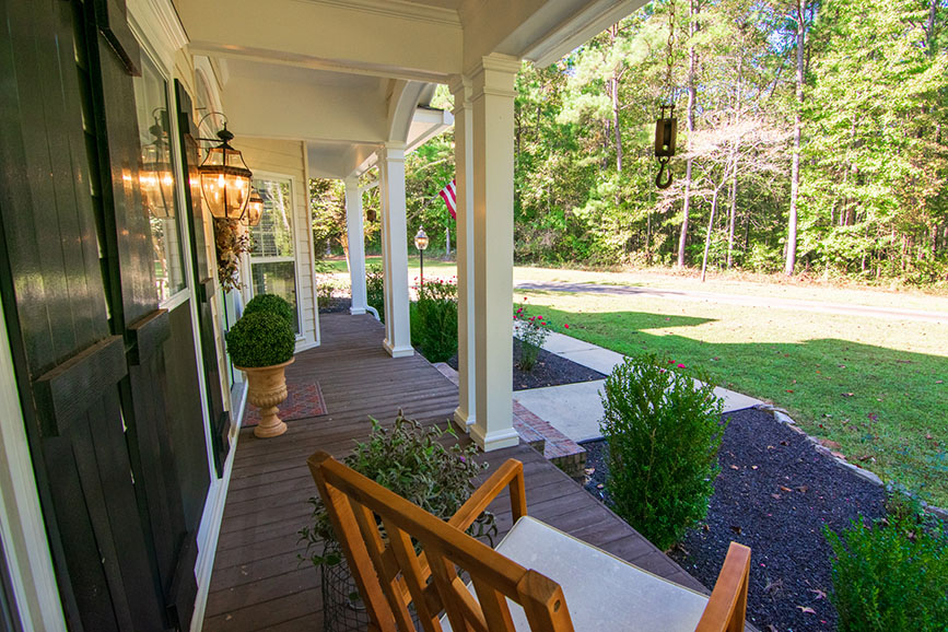 front porch at house for sale harris county ga