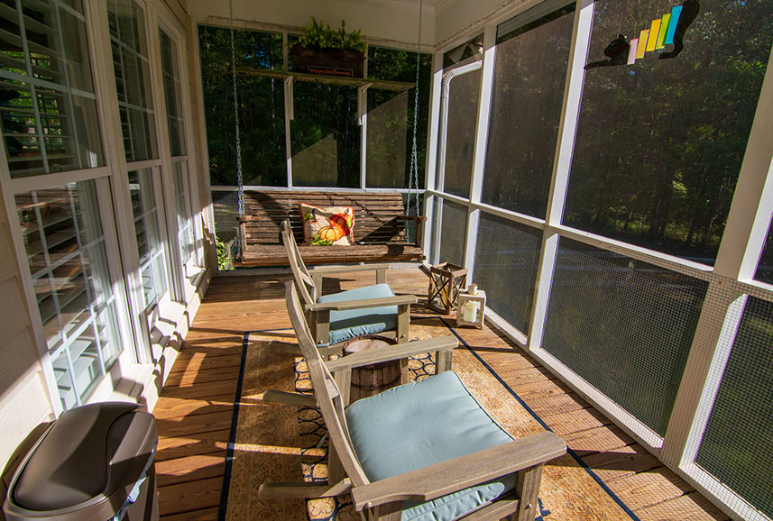 screened in porch home for sale harris county ga john bunn realty