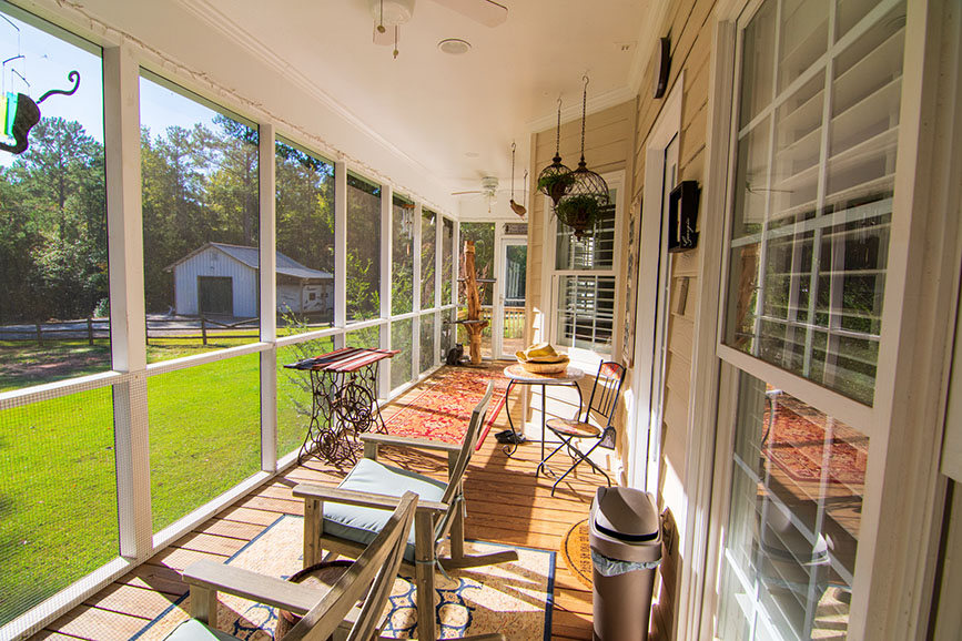 screened in porch home for sale john bunn realty