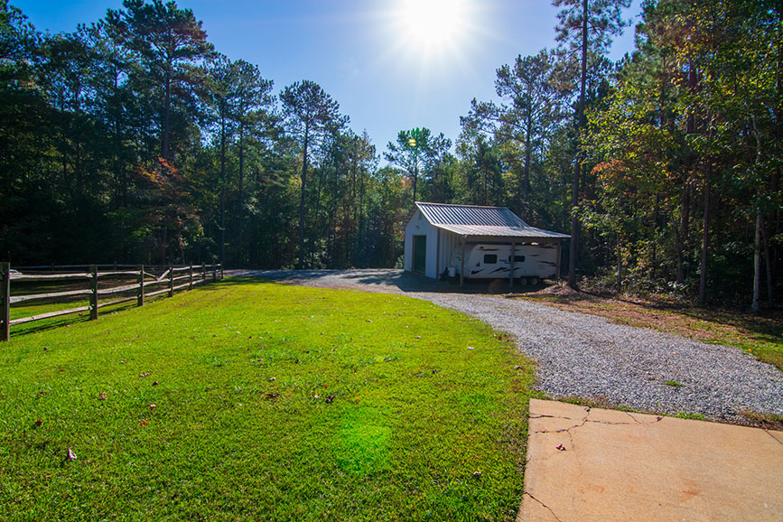 driveway and outbuilding harris county ga john bunn realty