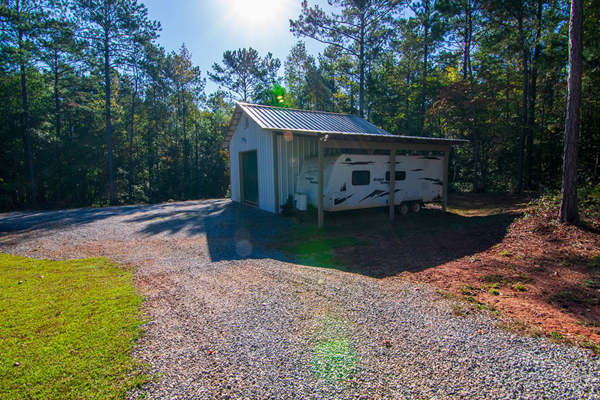 outbuilding with large vehicle storage john bunn realty