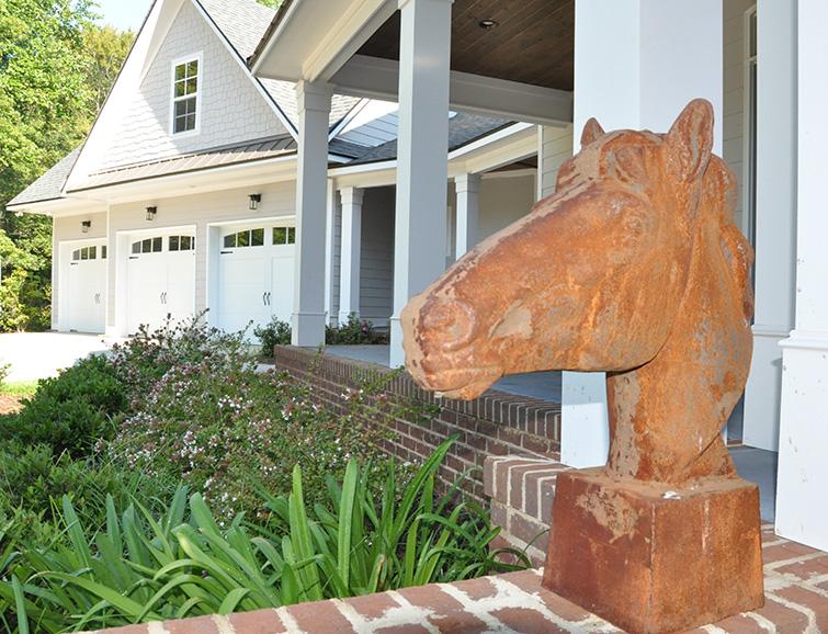 horse statue home for sale harris county ga john bunn realty