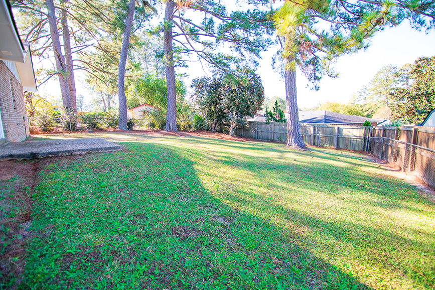 fenced backyard house for sale john bunn realty